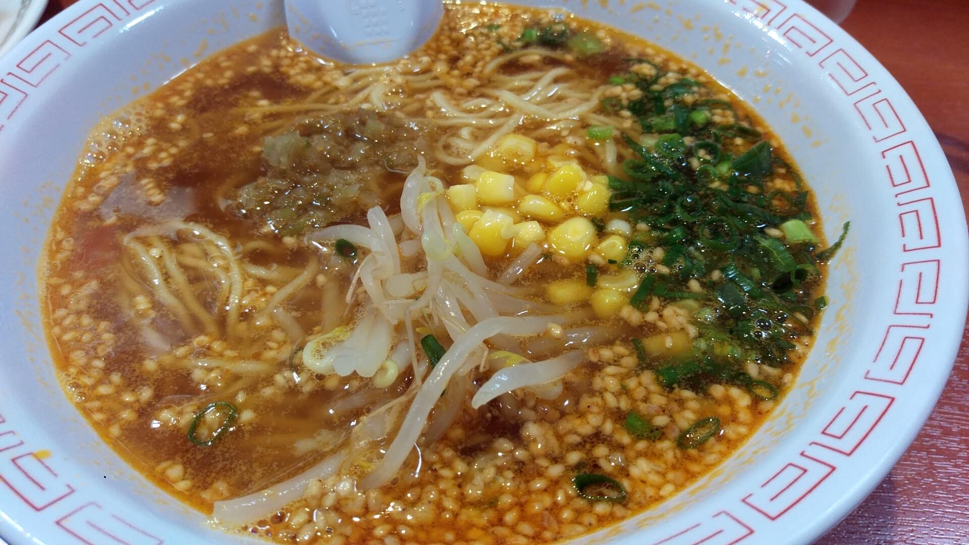 担々麺(ごま味噌)税込300円