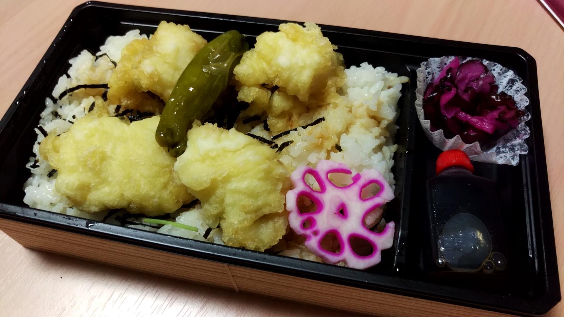 鱧の天ぷら、美味しかった!フワフワ
