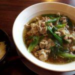 ランチパスポート 阪神 7 肉そば@堀川家 豚バラとネギのみのシンプル美味必食
