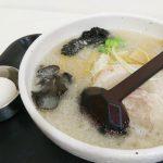 神戸そごう 催事 初夏の北海道物産展 白樺山荘の塩ラーメンは豚白湯背脂