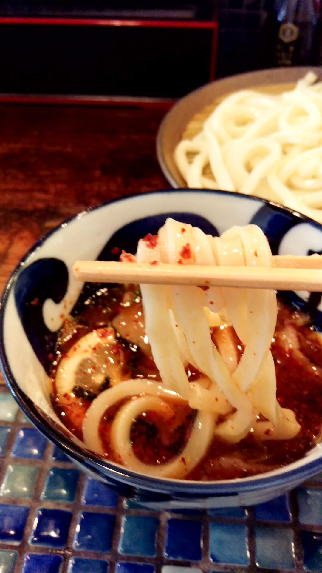 ブリブリの麺