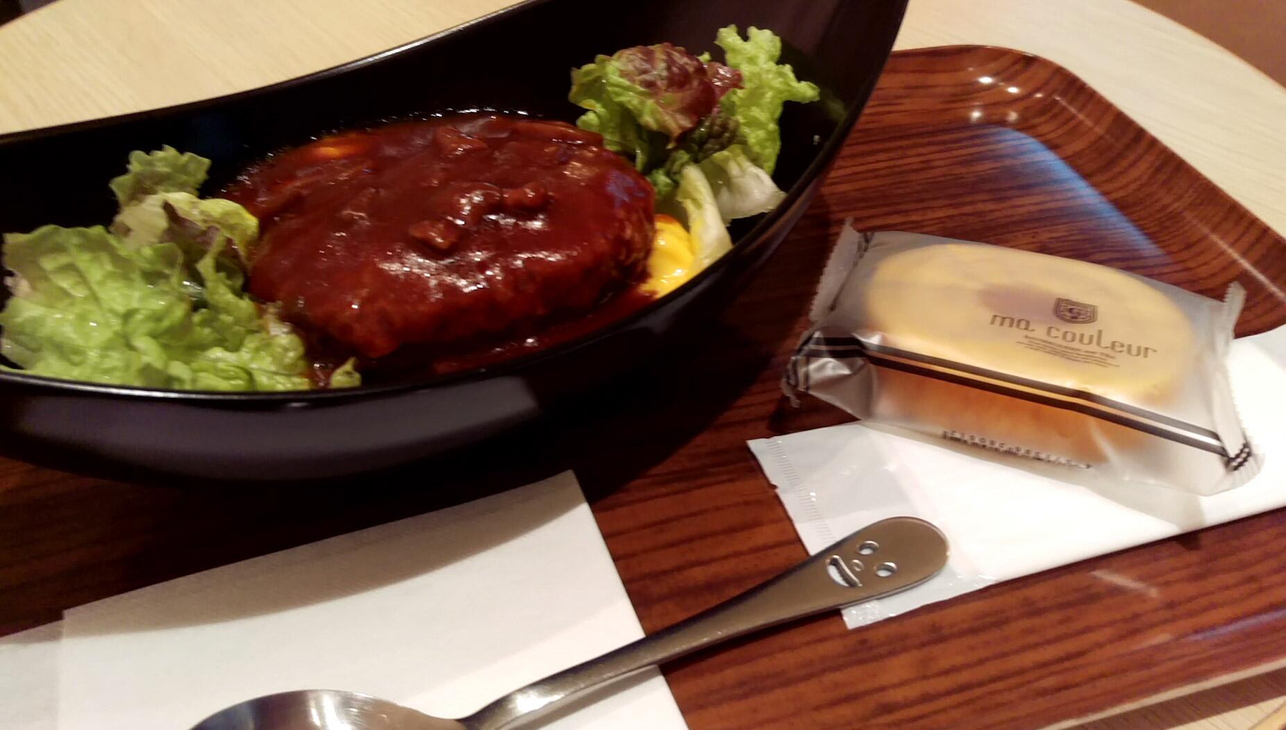 ロコモコ丼(デミグラス)@マクルール