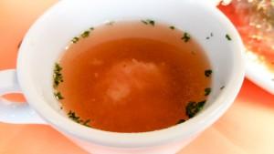 このスープは絶品 コンソメ+とろけるチーズ??