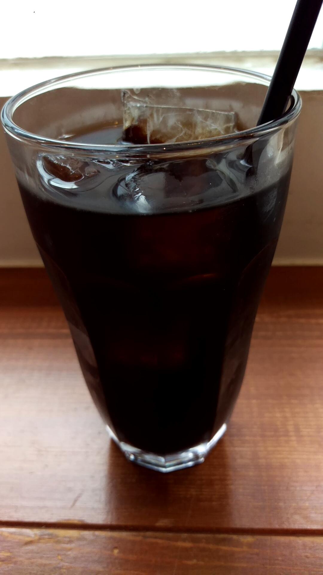 コーヒーは、ホットもしくはアイスを選択可