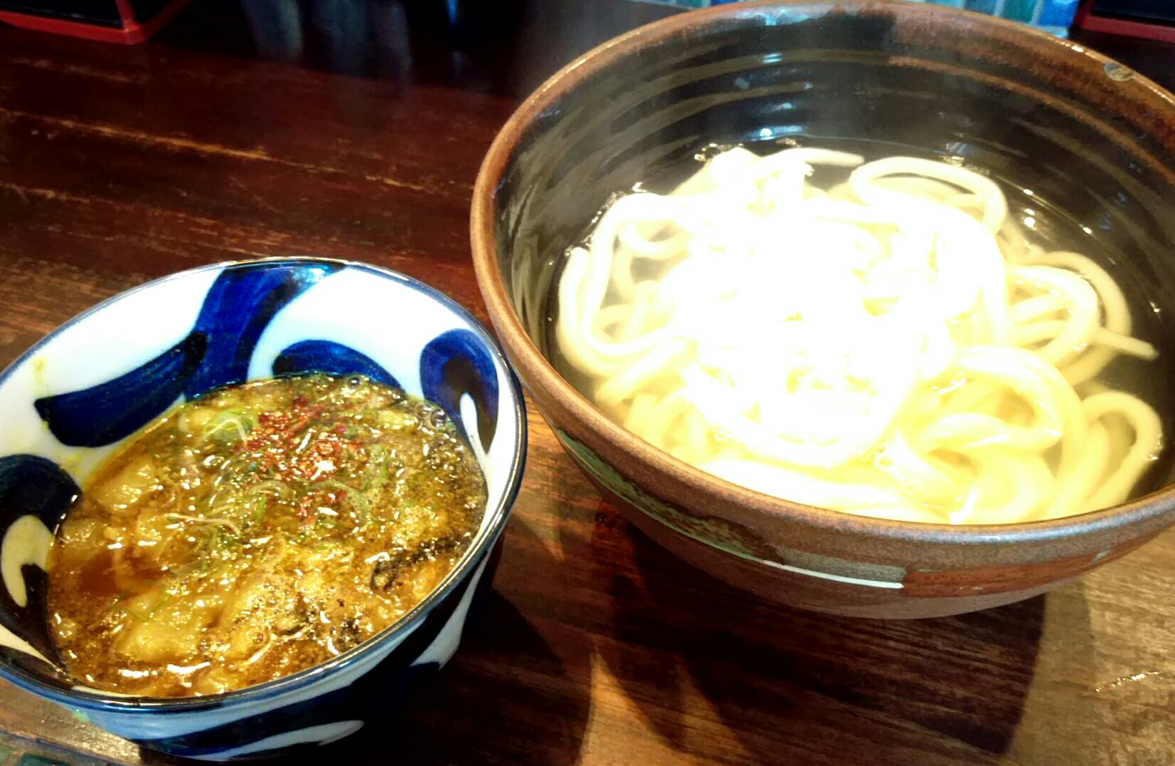 カレー肉汁うどん@喰らうどんさん