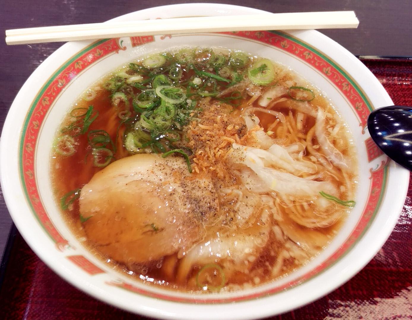 淡路玉ねぎ醤油ラーメン 710円!