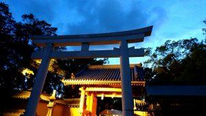 あらえびす夜祭り @ 西宮神社